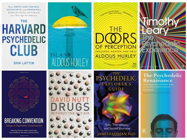 2018-05  Meine top 3 Psychedelic Bücher