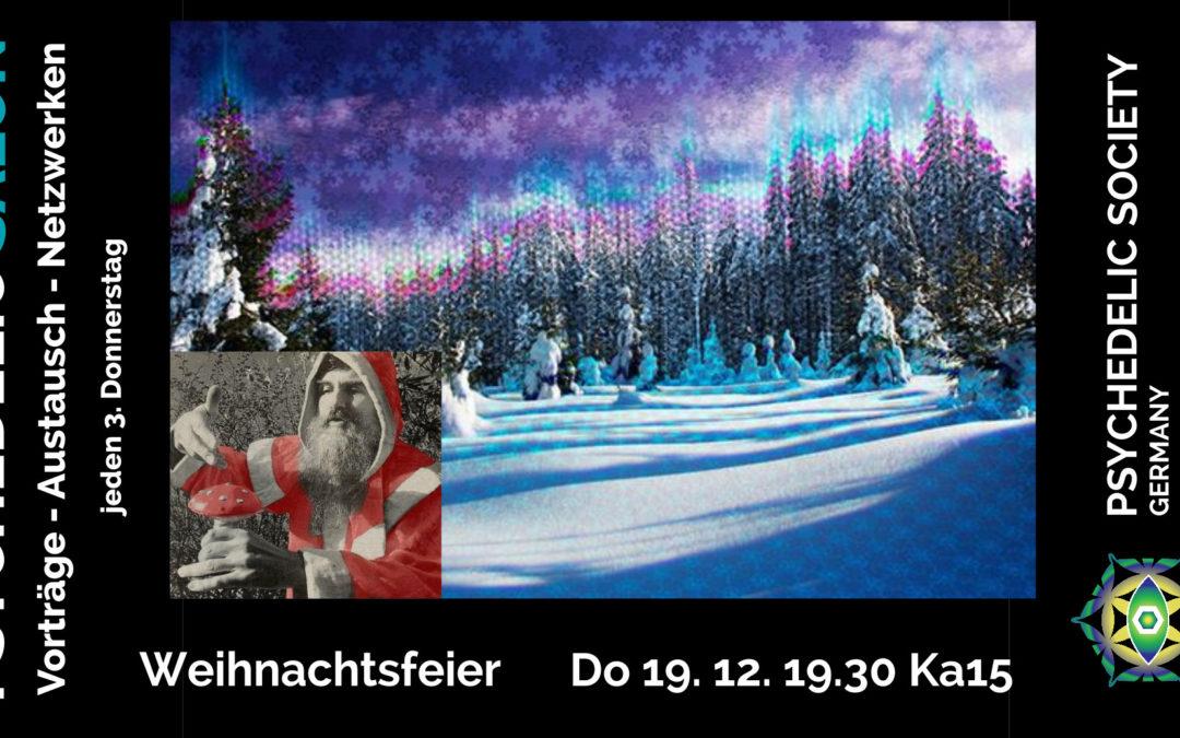 2019-12   Weihnachtsfeier der Psychedelic Society Dresden